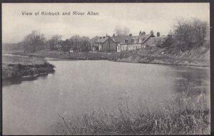 Postcard - Kinbuck from Riverbank