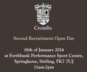 Cromlix Recruitment Day 2