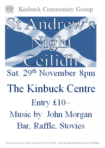 St Andrew's Night Ceilidh Photo