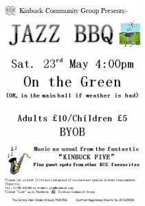 Jazz BBQ Flyer photo