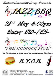 Jazz BBQ Poster
