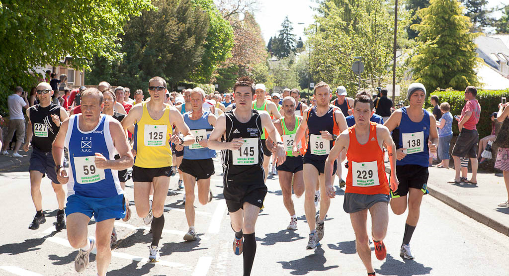 Dunblane Road Race – 1pm Today